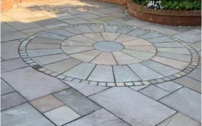 Patio cleaning and installation in Bedford